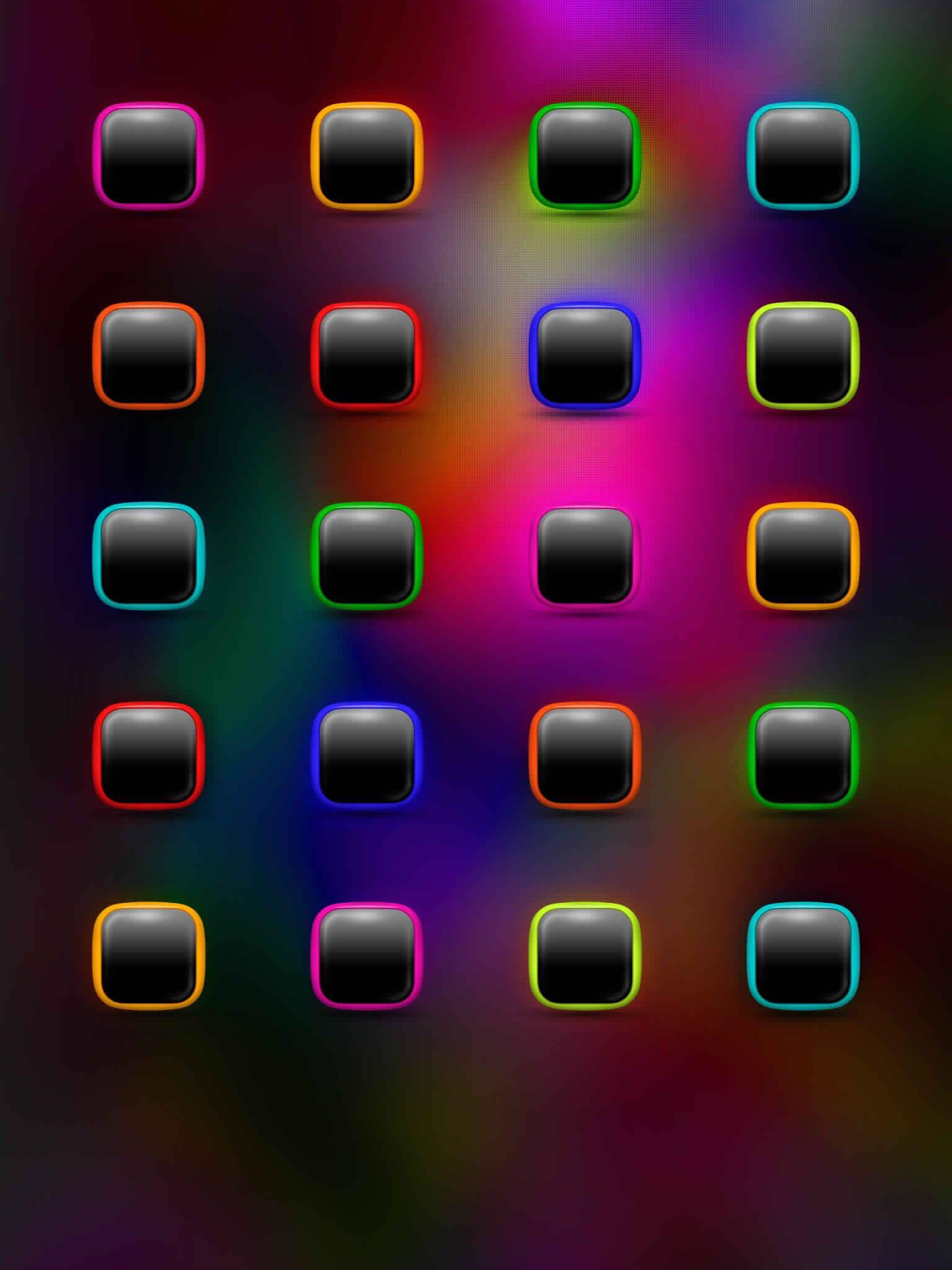 App / Icon Skin Wallpaper Ipad hintergrundbild
