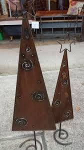 Image Result For Copper Foil Sheets Christmas Crafts Metal Tree