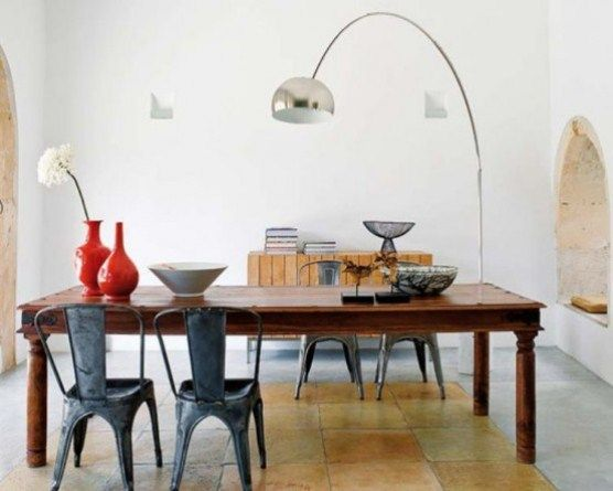Harmonious House Style Design Dining Room Floor Lamp Modern