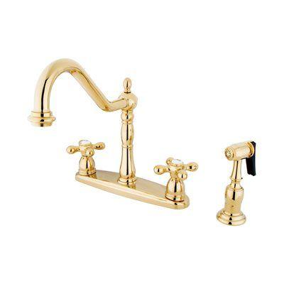 elements of design kitchen faucet eb175 new orleans centerset cross rh pinterest ca