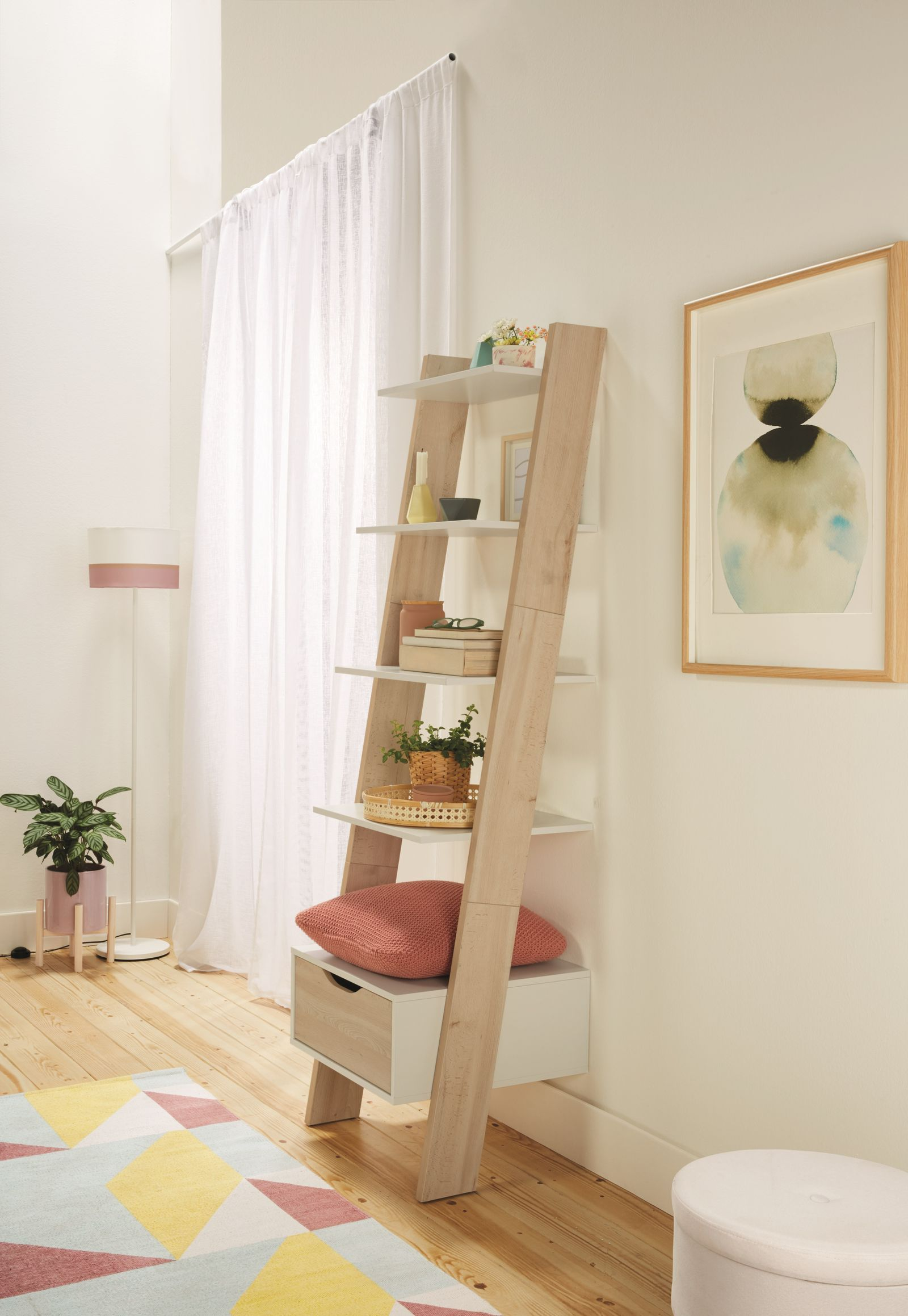 Lidl Is Selling A Scandi Inspired Ladder Shelving Unit For 50
