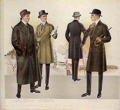 early 20th century men's fashion