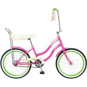 Kids Girls 20 Inch Retro Schwinn Pink Cruiser Road Bike Bicycle