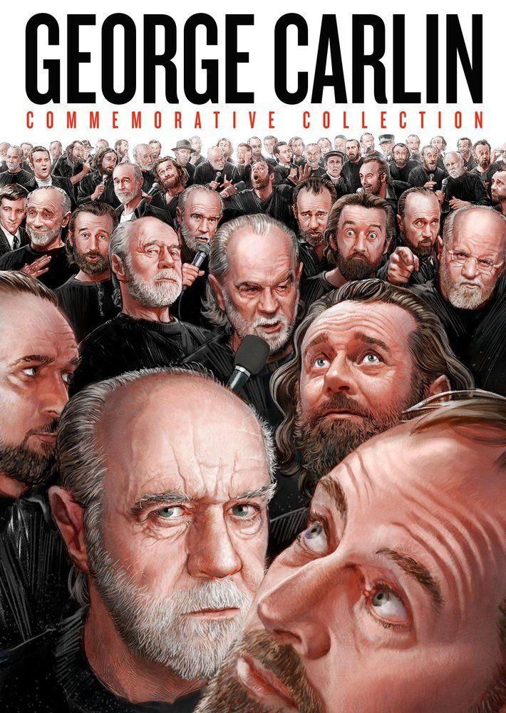 George Carlin Commemorative Collection 10 Discs Dvd George Carlin Carlin Commemoration