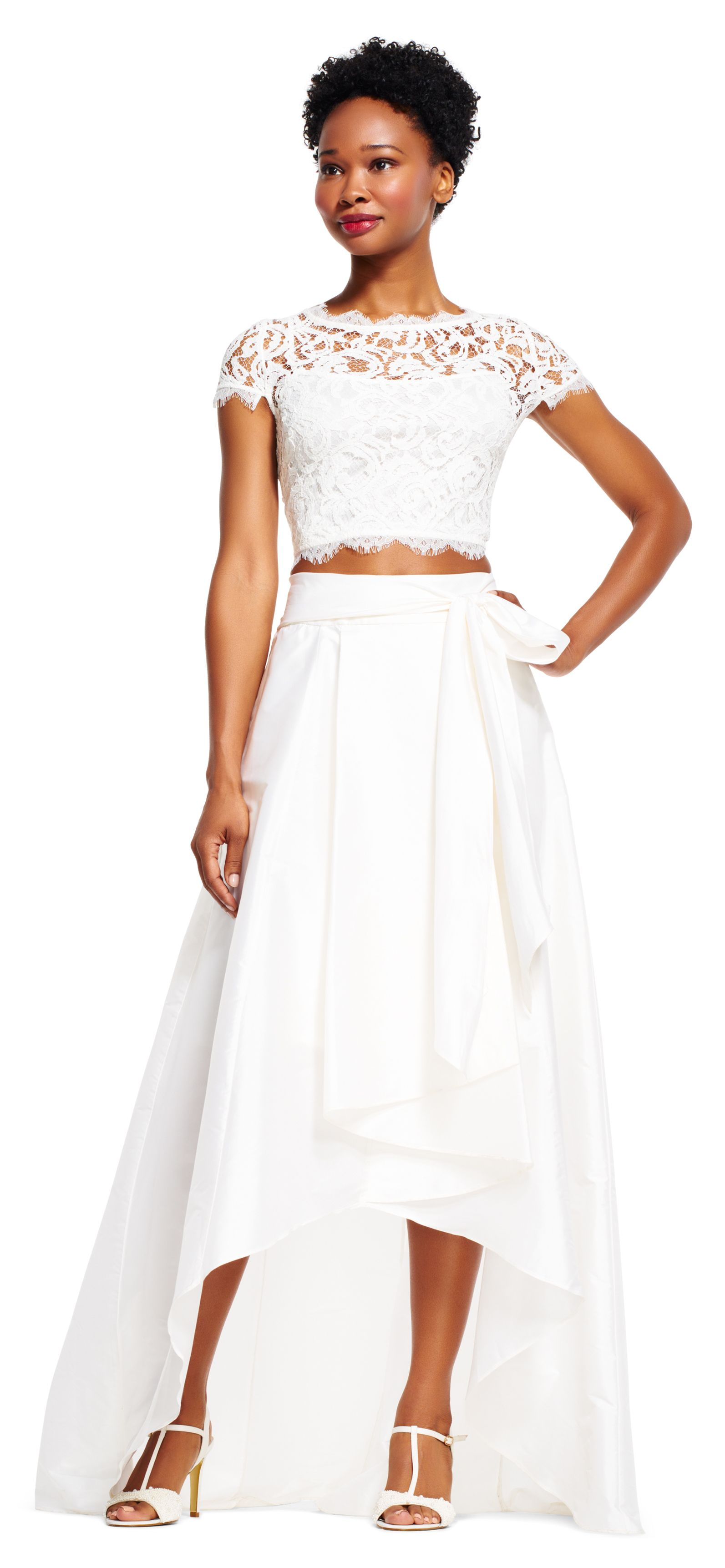 Versatile and beautiful this evening skirt will refresh all of your