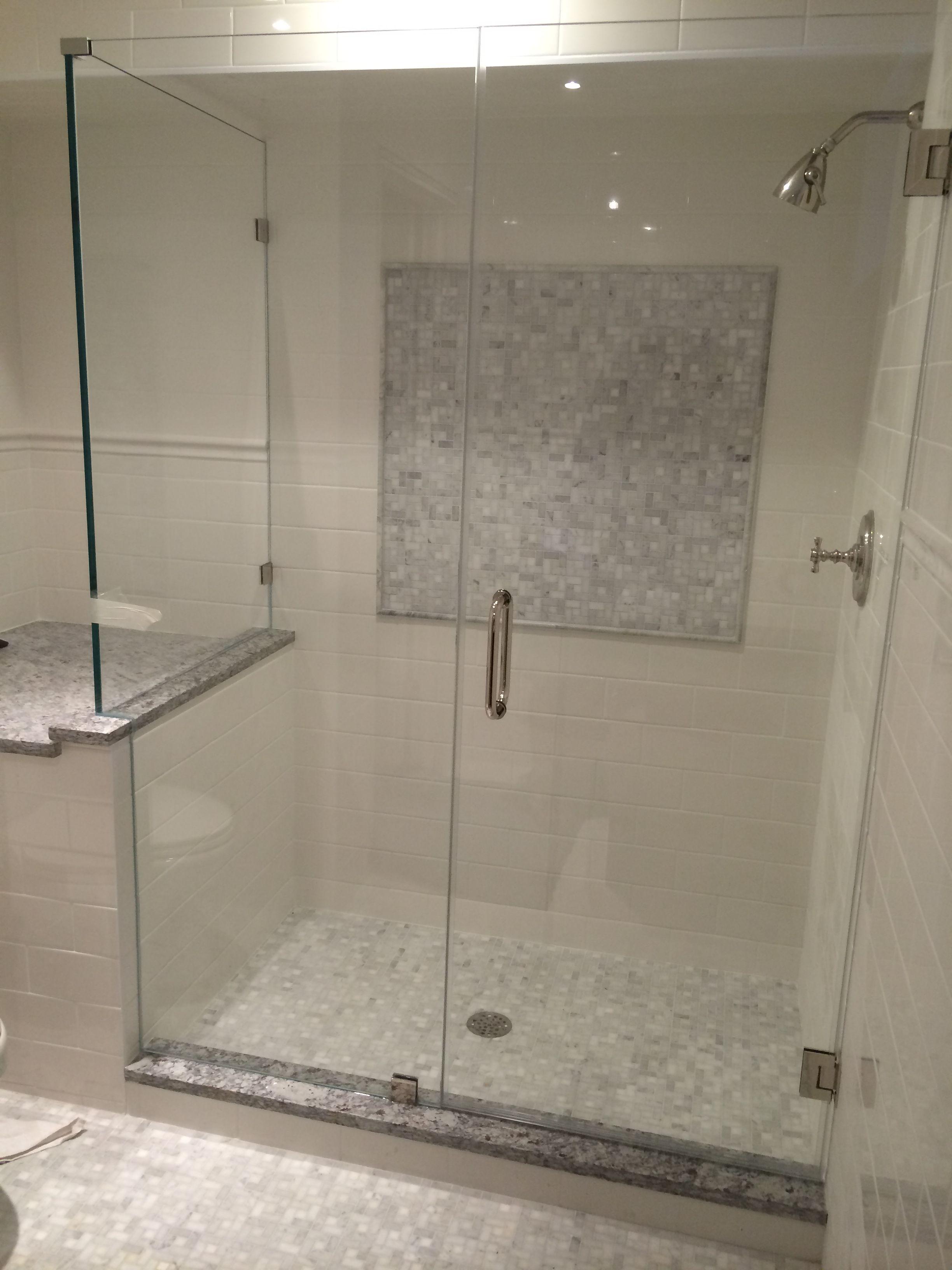 Single Door Frameless Showerman Shower Door Shower Doors