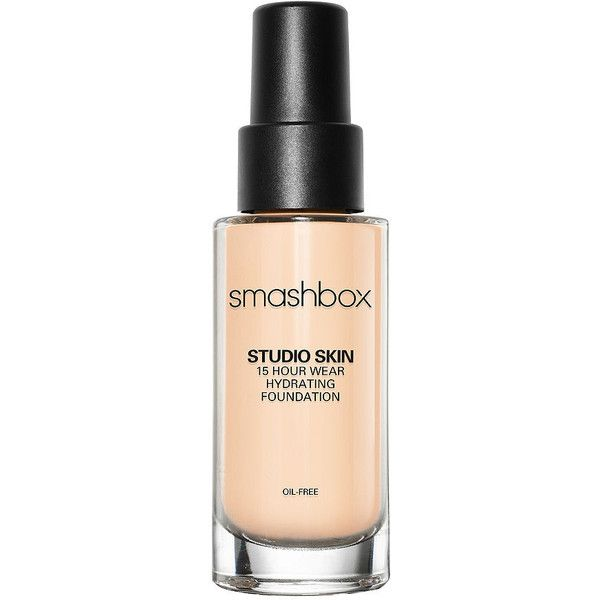 Smashbox Studio Skin 15 Hour Wear Hydrating Foundation, 0.5 1 oz (30... (£32) ❤ liked on Polyvore featuring beauty products, makeup, face makeup, foundation, smashbox foundation, smashbox, oil free paraben free foundation, oil free foundation and moisturizing foundation
