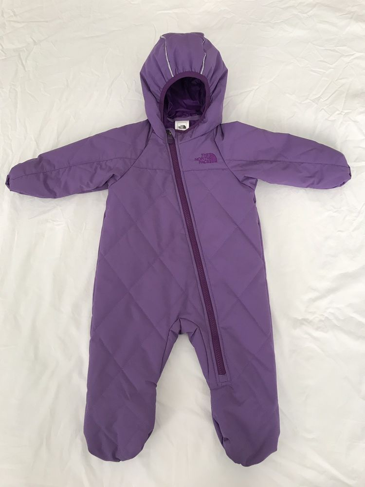 fe83cc2095c8 The North Face Infant 6-12M Full Body Snowsuit Purple  fashion ...