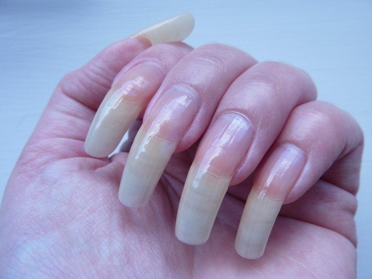 beautiful natural nails... | Natural Nails | Pinterest | Natural ...
