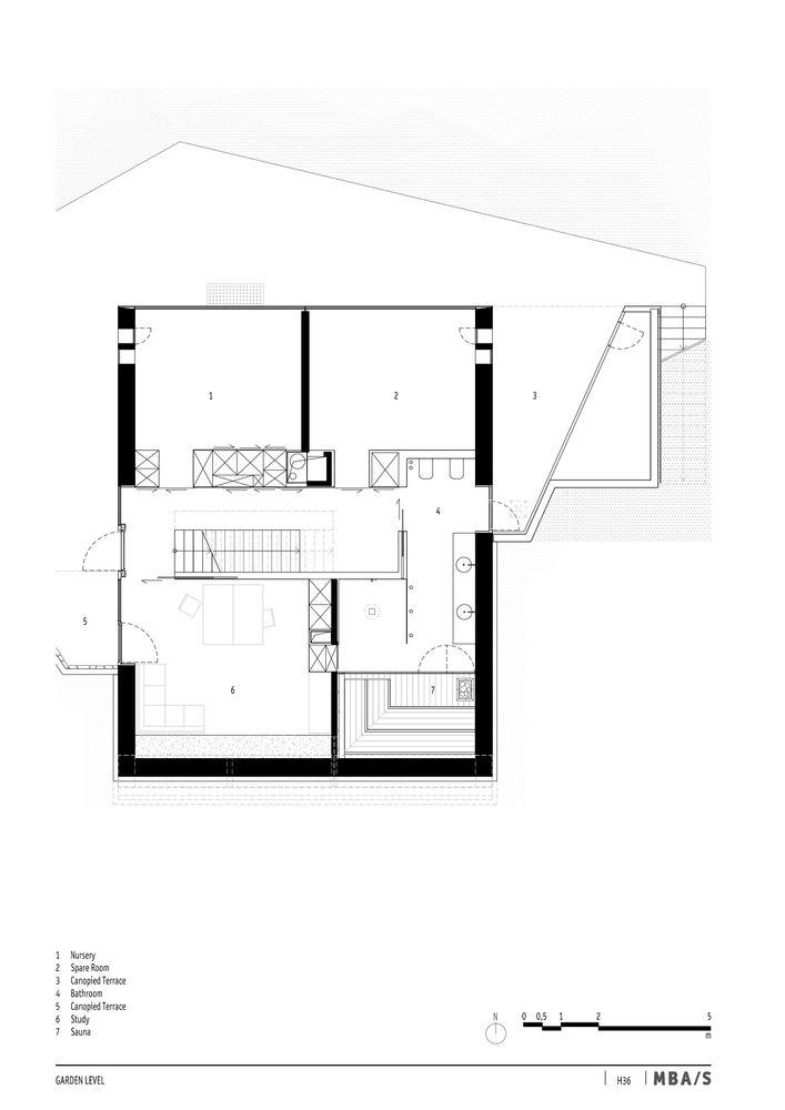 Gallery of House 36 Matthias Bauer Associates 11 Garden