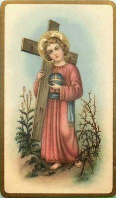 Resultado de imagem para menino jesus cruz