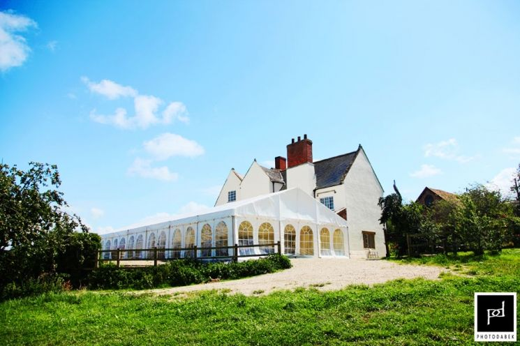 Huntstile Organic Farm on a beautiful sunny day. Pic by Photodabek