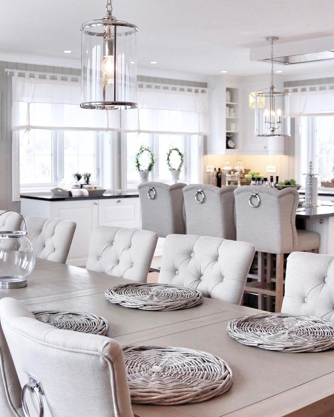 Esszimmer dekor wohnung neutral  neutral living  pinterest  esszimmer wohnraum und