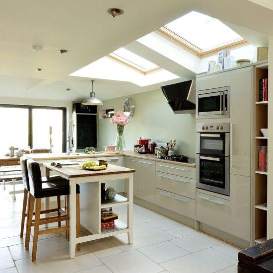 Wohnküche Kücheninsel: Küchen Küchenideen Küchengeräte Wohnideen Möbel Dekoration