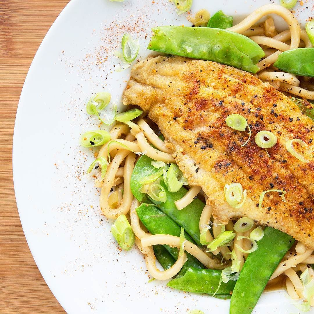 Blue apron udon catfish - Crispy Catfish With Yuzo Kosho Udon From Blueapron Made A Deliciously Flavorful Dinner That