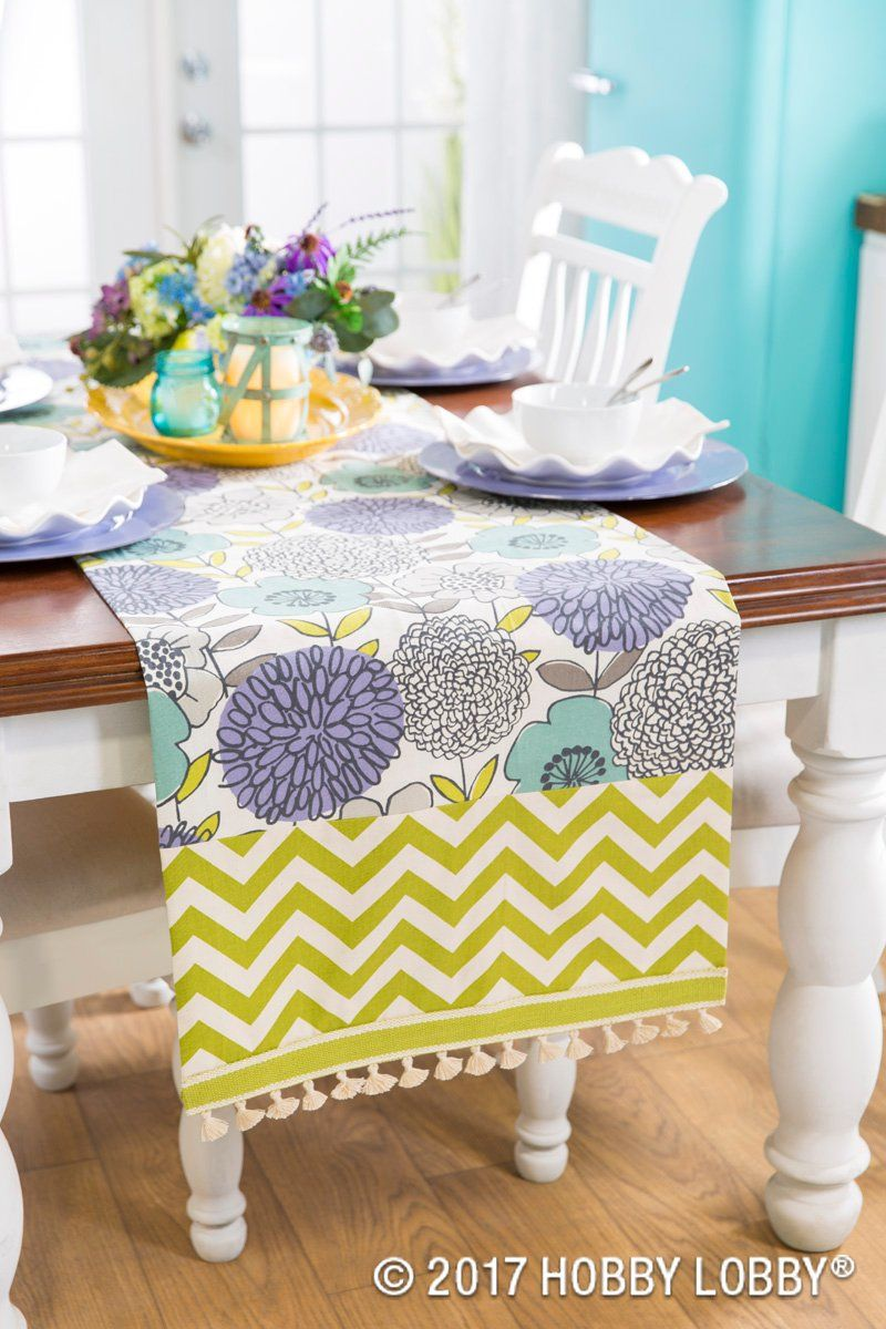 Stitch Up A Spring Table Runner For A Cheerful Update To Your