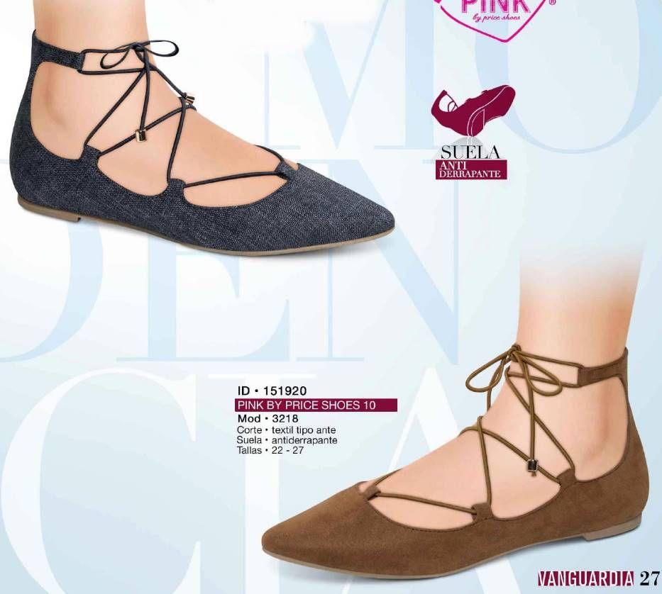 half off 70a2e ce50e Balerina de moda para mujer de la marca Pink by Price Shoes. Coleccion  Vanguardia 2016