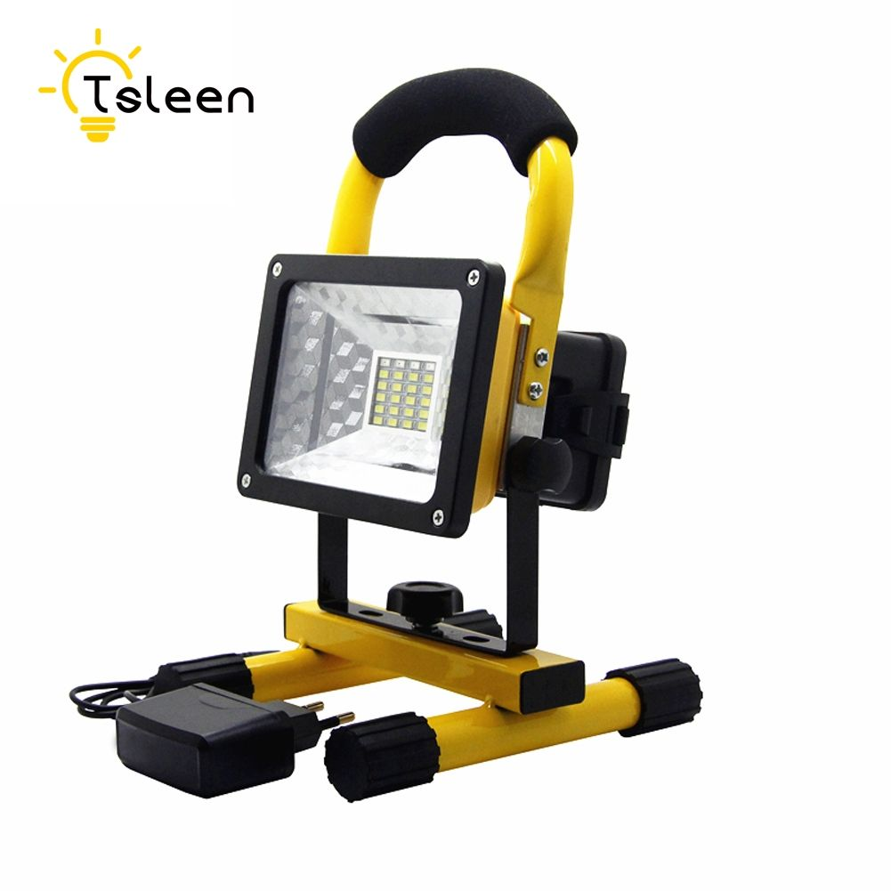 Alarm Sos Led Practical Usd Ip65 24led 30w Flood Light Portable Emergency And Spotlights Rechargeable Floodlight