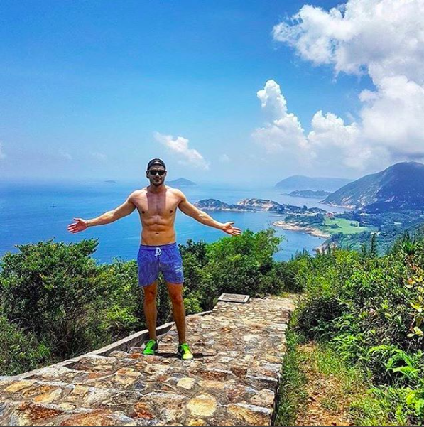 Thank you to @romain_pardo for this awesome pic😎☀️. Share picture of your best point of view with #europann! #pointofview #summer2017 #blueocean #picoftheday #vacation #holidays #fashionmen #bloggerlife