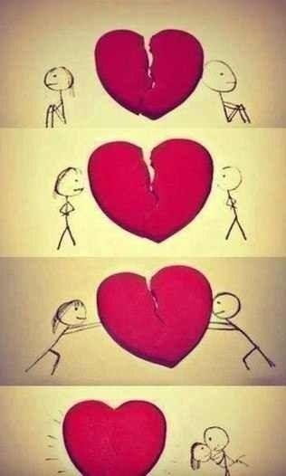 صور قلب حب مميزة Sowarr Com موقع صور أنت في صورة Mending A Broken Heart How To Fix A Broken Heart Love Drawings
