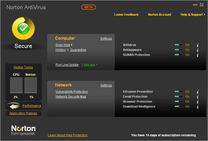norton antivirus free download for windows 7 32 bit