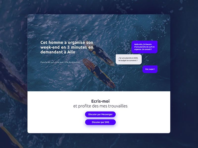 Alix website by Mimos
