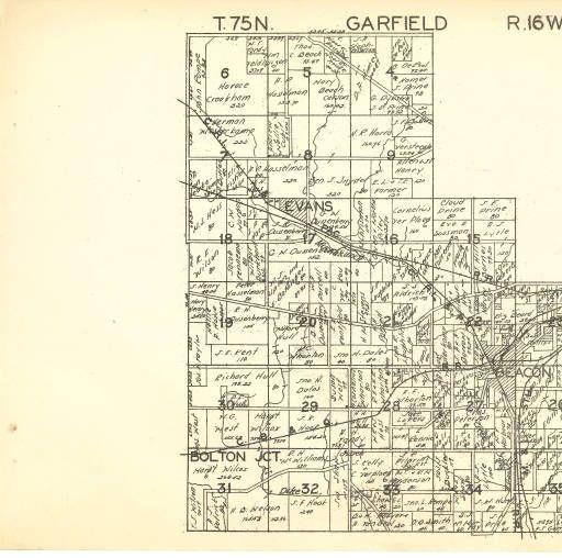 Plat Book Of Mahaska County Iowa Hixson Plat Map Atlases Of