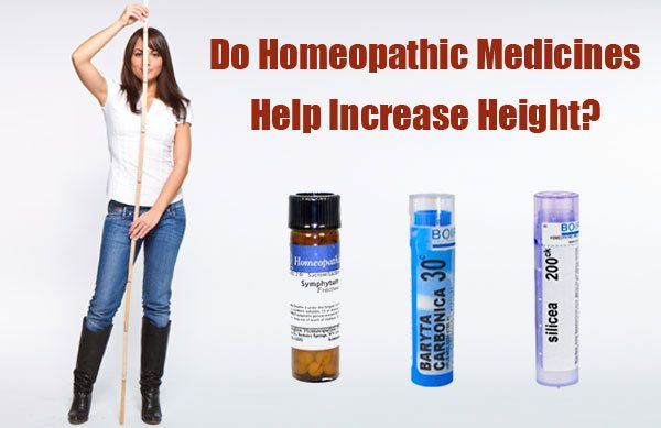 Homeopathic Medicine For Height Increase - How Effective It