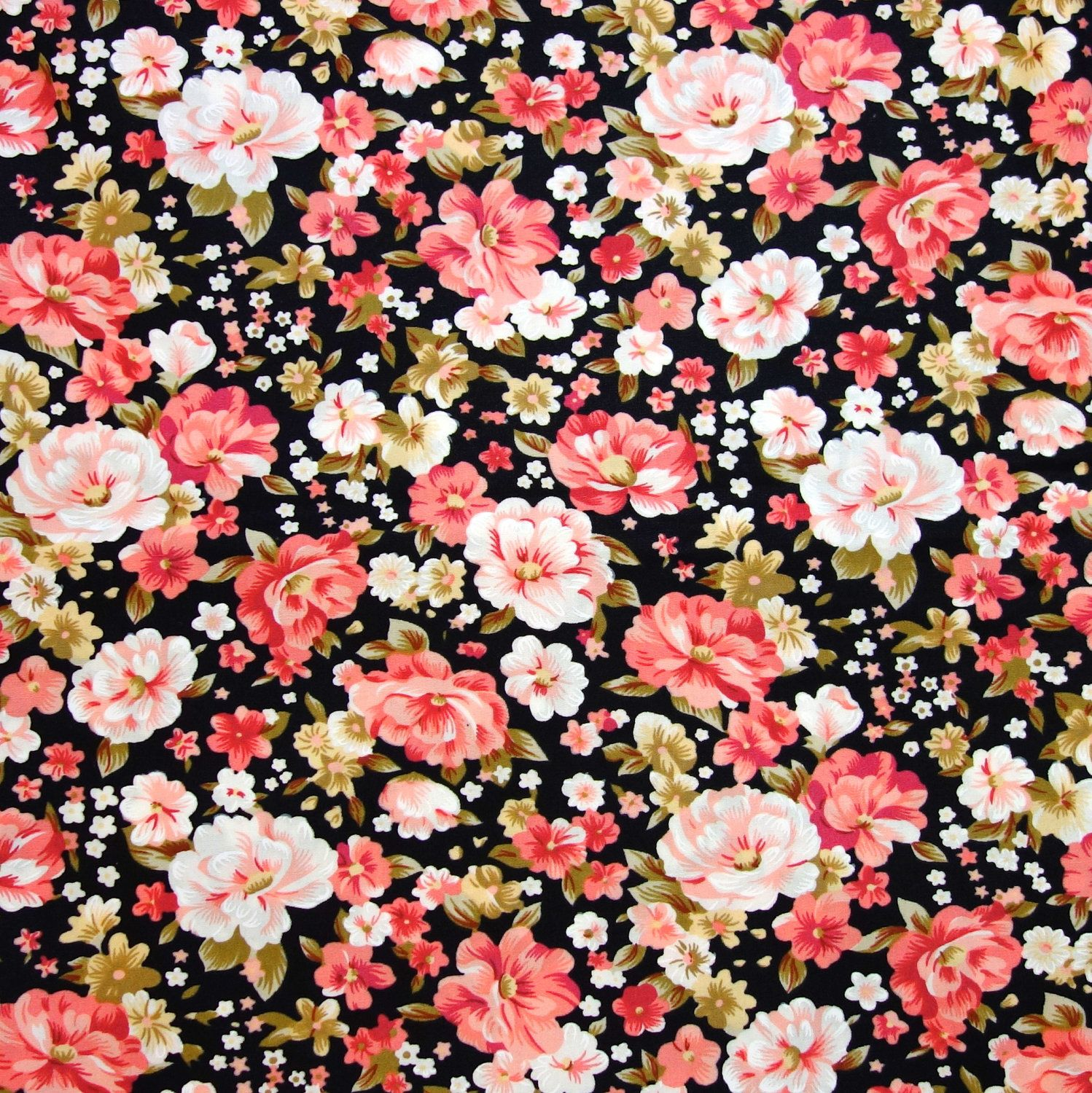 Vintage Floral Pattern Background Tumblr