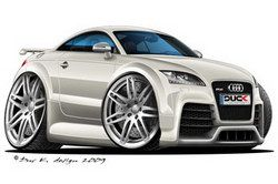 Audi TT RS White DK