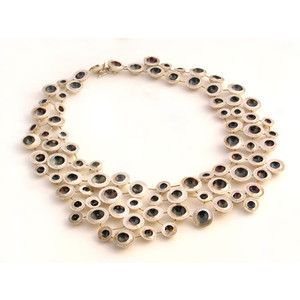 This necklace is cool, but grosses me out. It reminds me of maggot holes.
