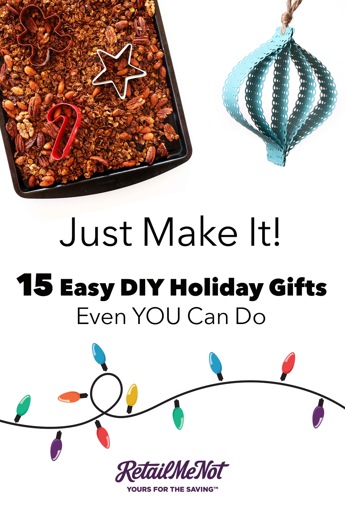 15 Last-Minute and Easy DIY Christmas Gifts Ideas | Pinterest ...