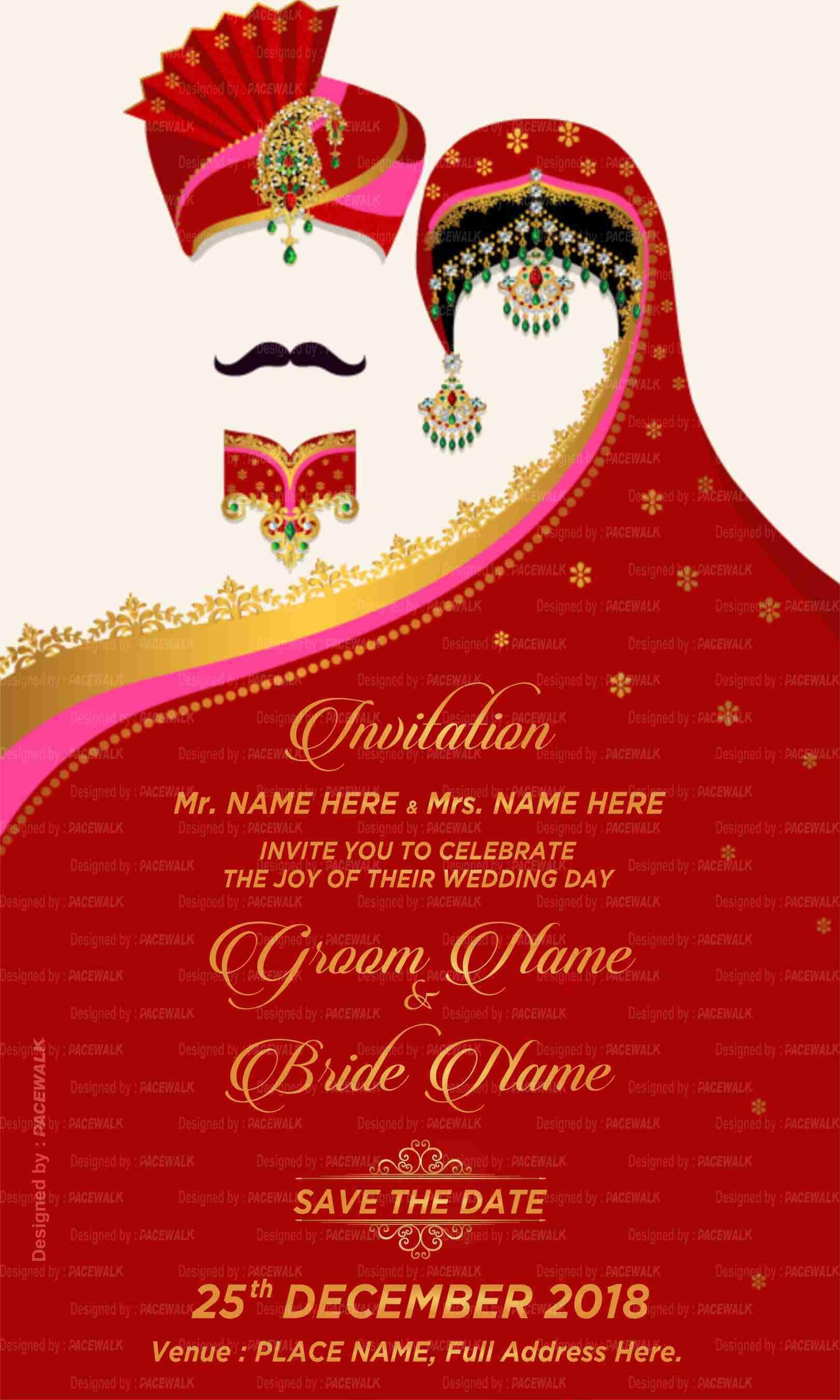 Wedding Invitation Video Maker Online Indian Wedding Invite Makers Wedding Invitation Maker Wedding Invitation Video Wedding Invitation Card Design