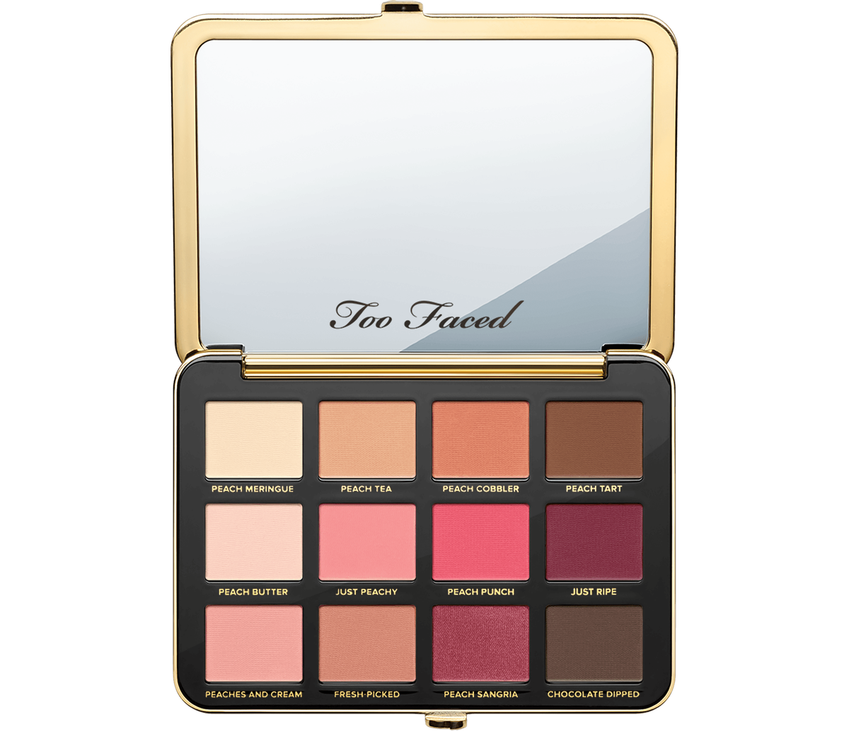 Just Peachy Mattes Eyeshadow Palette Too Faced Too