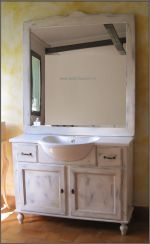 Mobile #bagno Shabby Chic mobili in legno nei colori che ami | Bagni ...