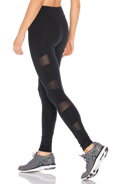 a25c60b626 SOLOW Stiletto Mesh Legging in Black   Work it!   Mesh leggings ...