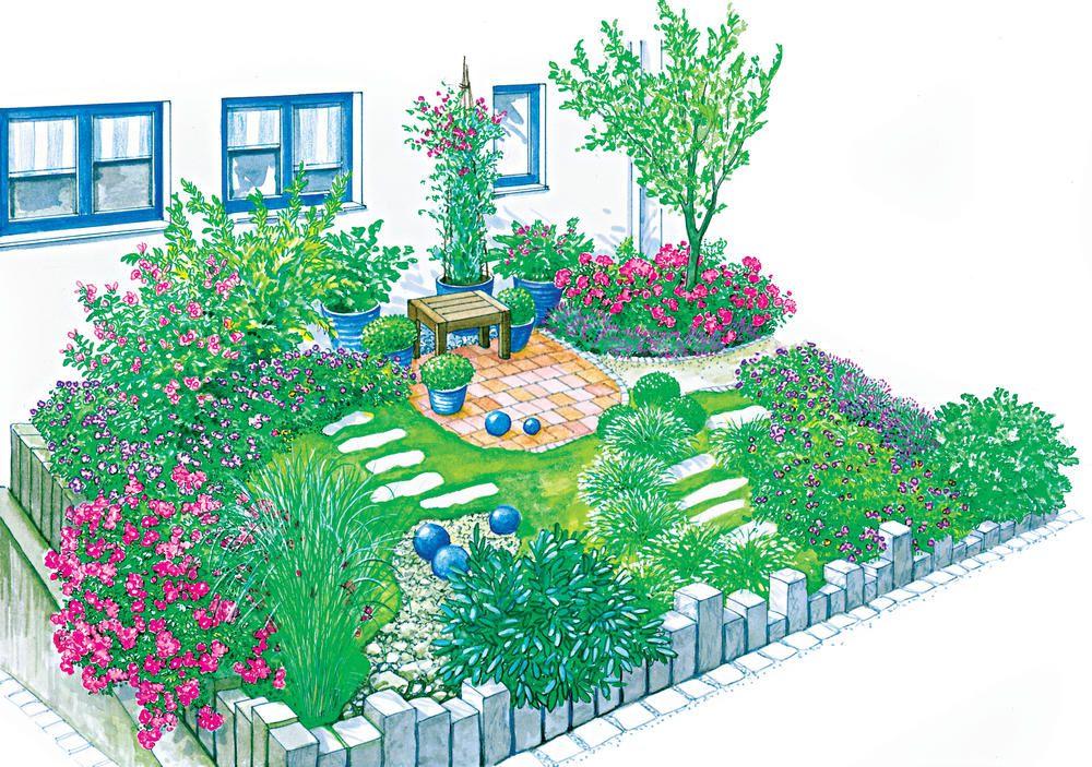 Ein Vorgarten mit Charme