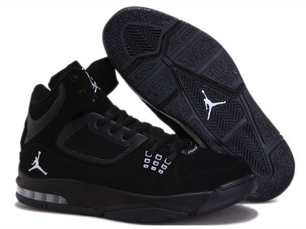 b61733f3aa0 NIKE JORDAN FLIGHT 23 RST BLACK/WHITE/DARK GREY MEN'S 512234 010 SZ 9.5  $150 #NIKEJORDAN #BasketballShoes
