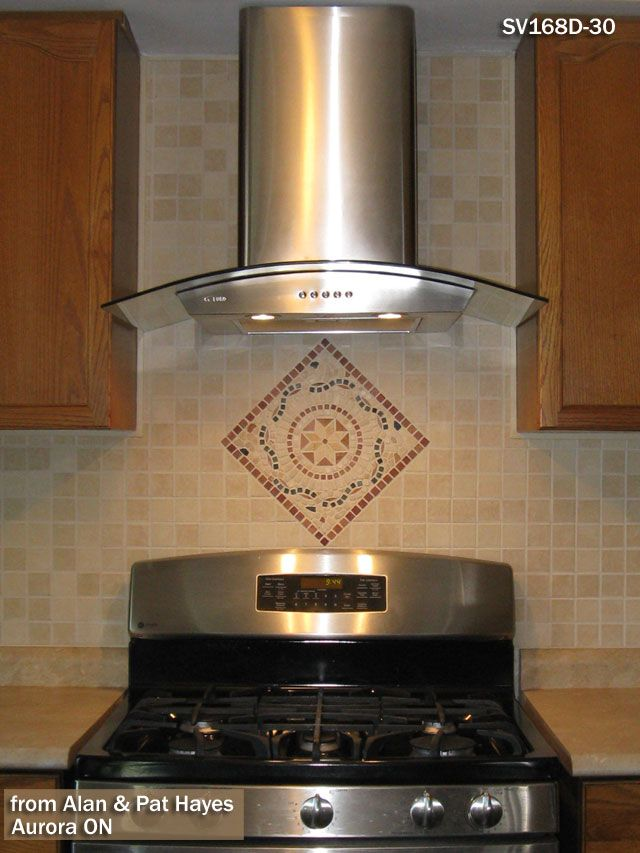stainless steel range hood flue cover 30 inch ductless kitchen glass hoods free nutone