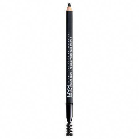 NYX Professional Makeup Eyebrow Powder Pencil, Black - Walmart.com
