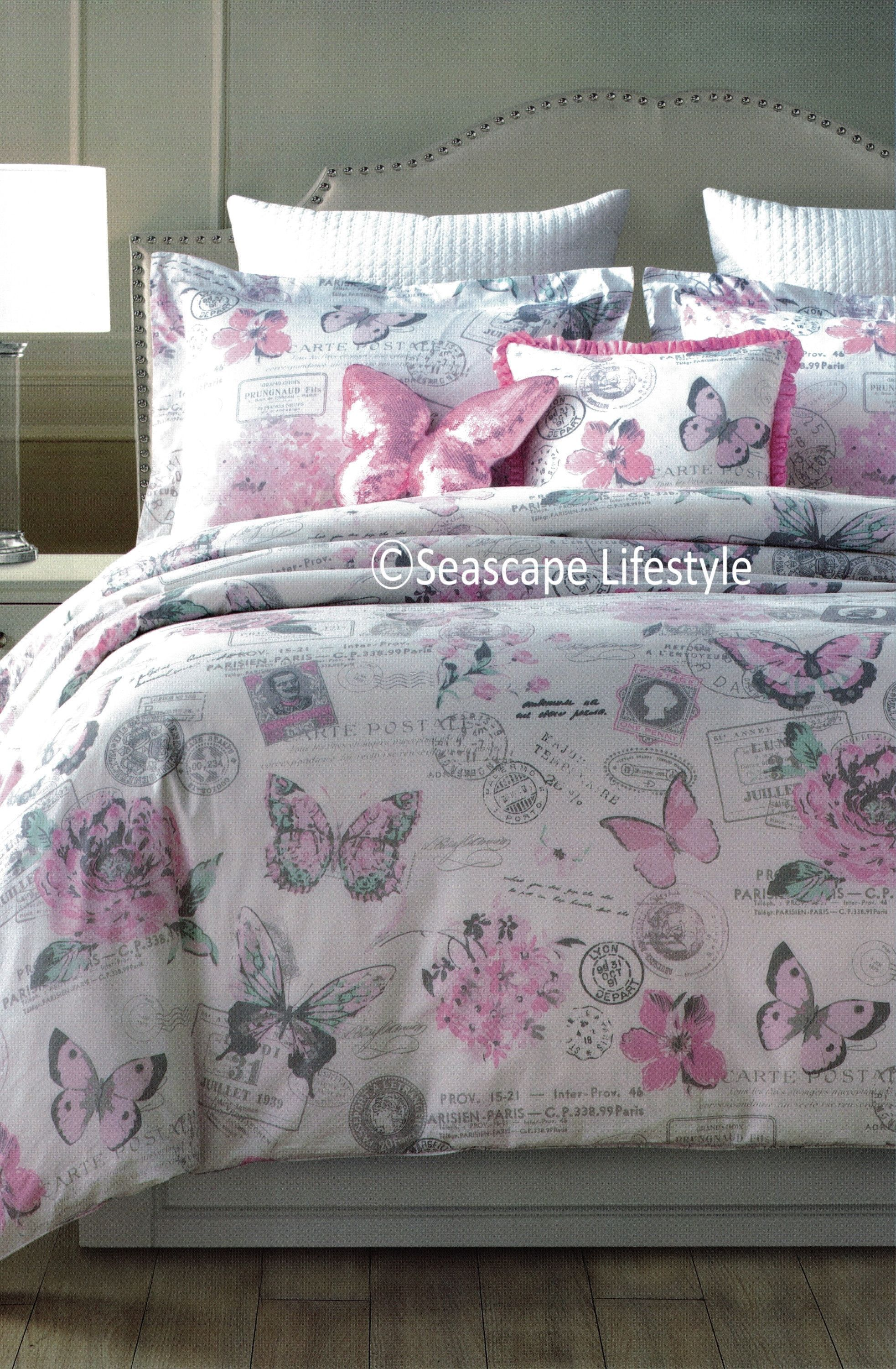 bedding gy set grey collection aztec gold comforter boho girls large bed itm jojo teen sweet size pk twin pink
