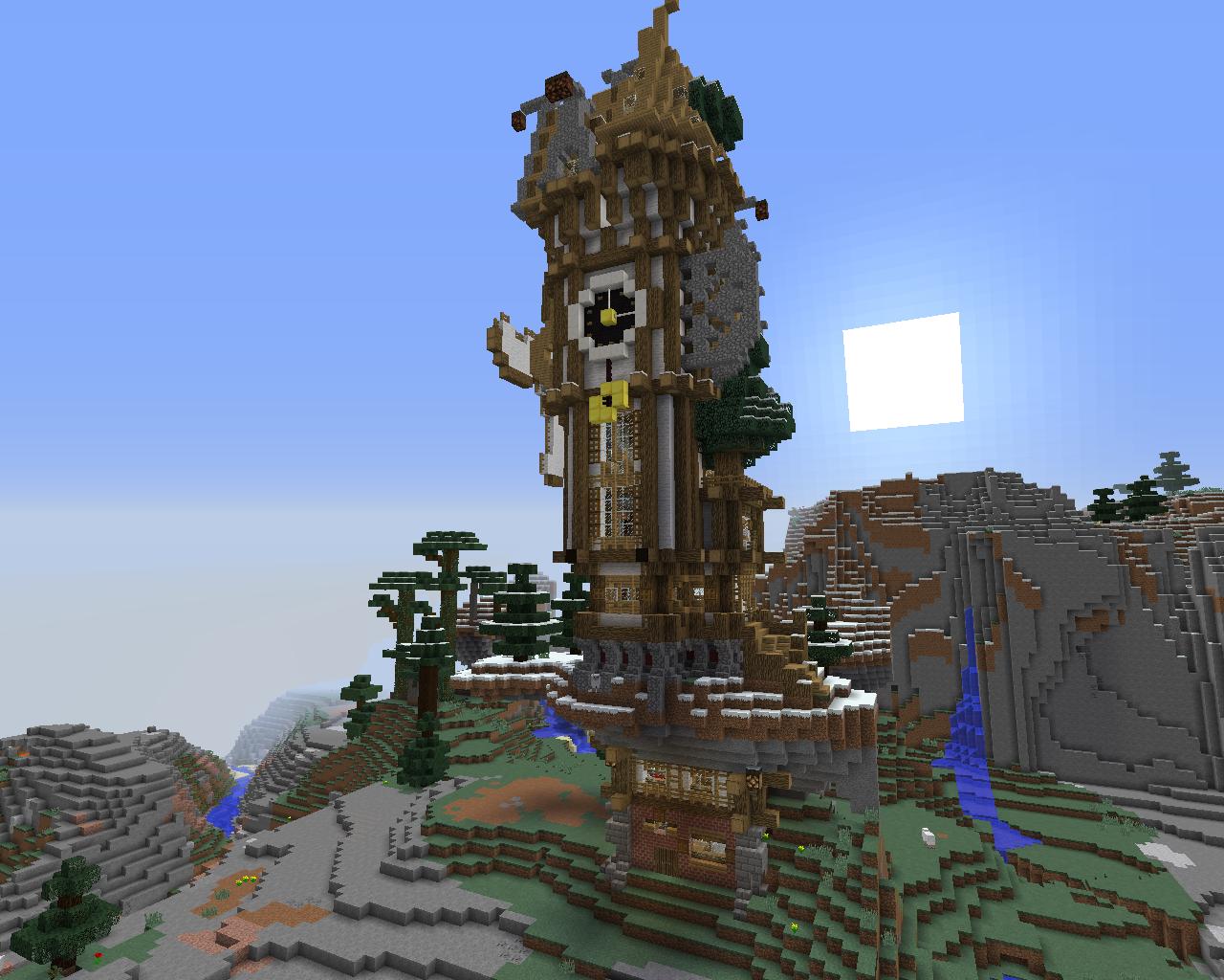 Petite Maison Steampunk Minecraft