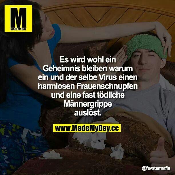 Bilder Männergrippe