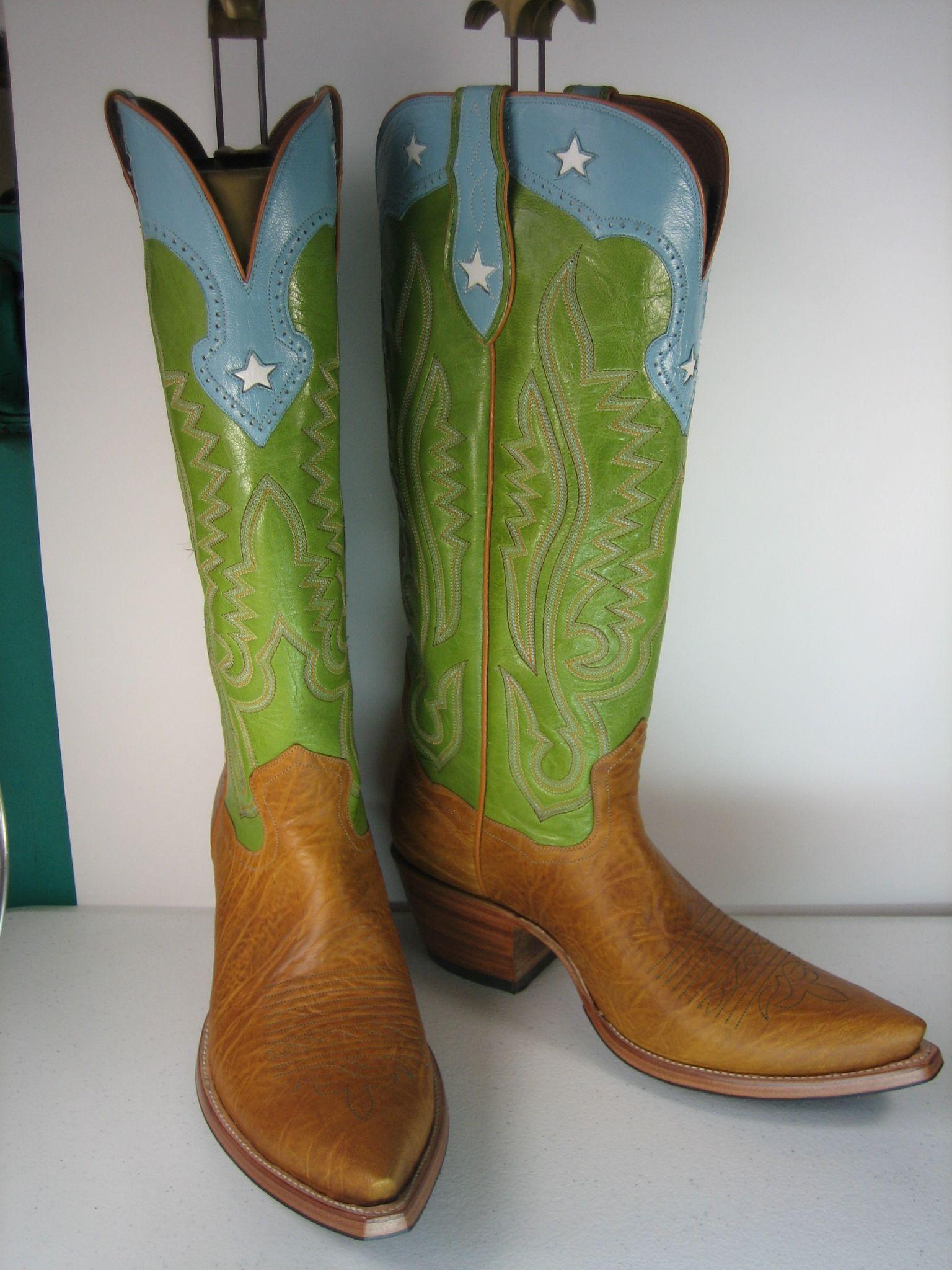 Custom Cowboy Boots, handmade by Legendary Boot Co., El Paso