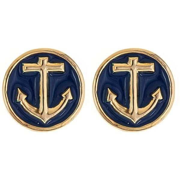 Anchor Earrings - Seriously, why don't I have these?