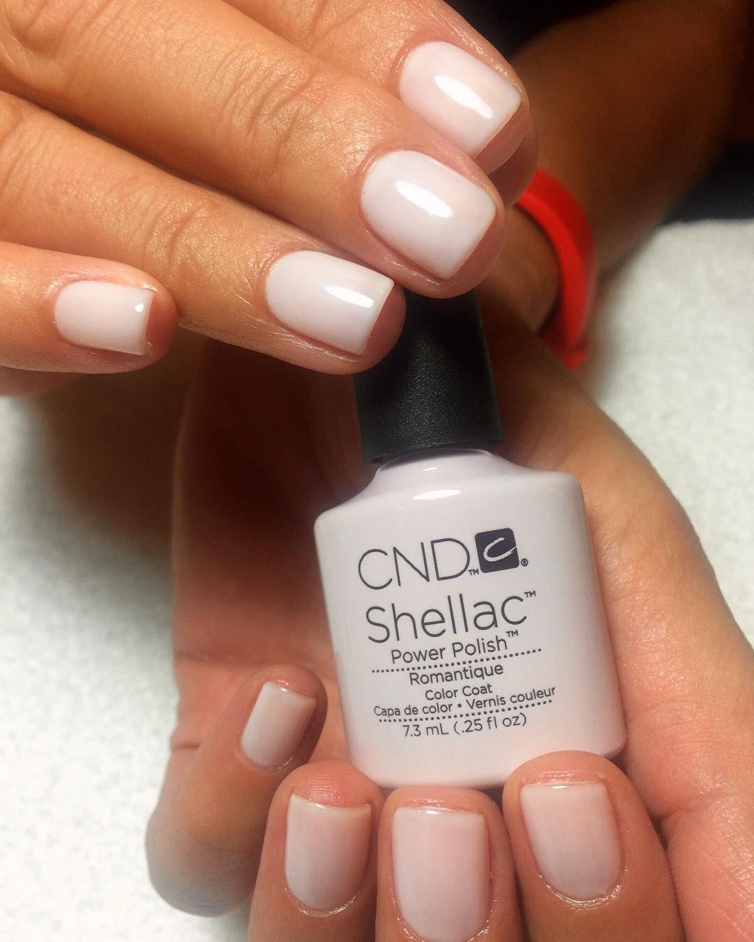 Cnd Shellac Romantique Shellacromantique Shellac Nail Designs Cnd Shellac Nails Cnd Nails