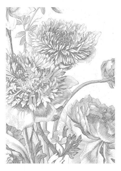 KEK Amsterdam Engraved Flowers IV - 4-baans