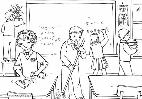 Ayudo a ordenar | Back to school, dibujos para colorear de Activity ...