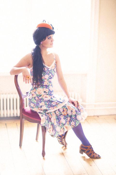 Portrait of the talented Maja Alderin Francis, for Plezuro.    http://www.myspace.com/majaalderin