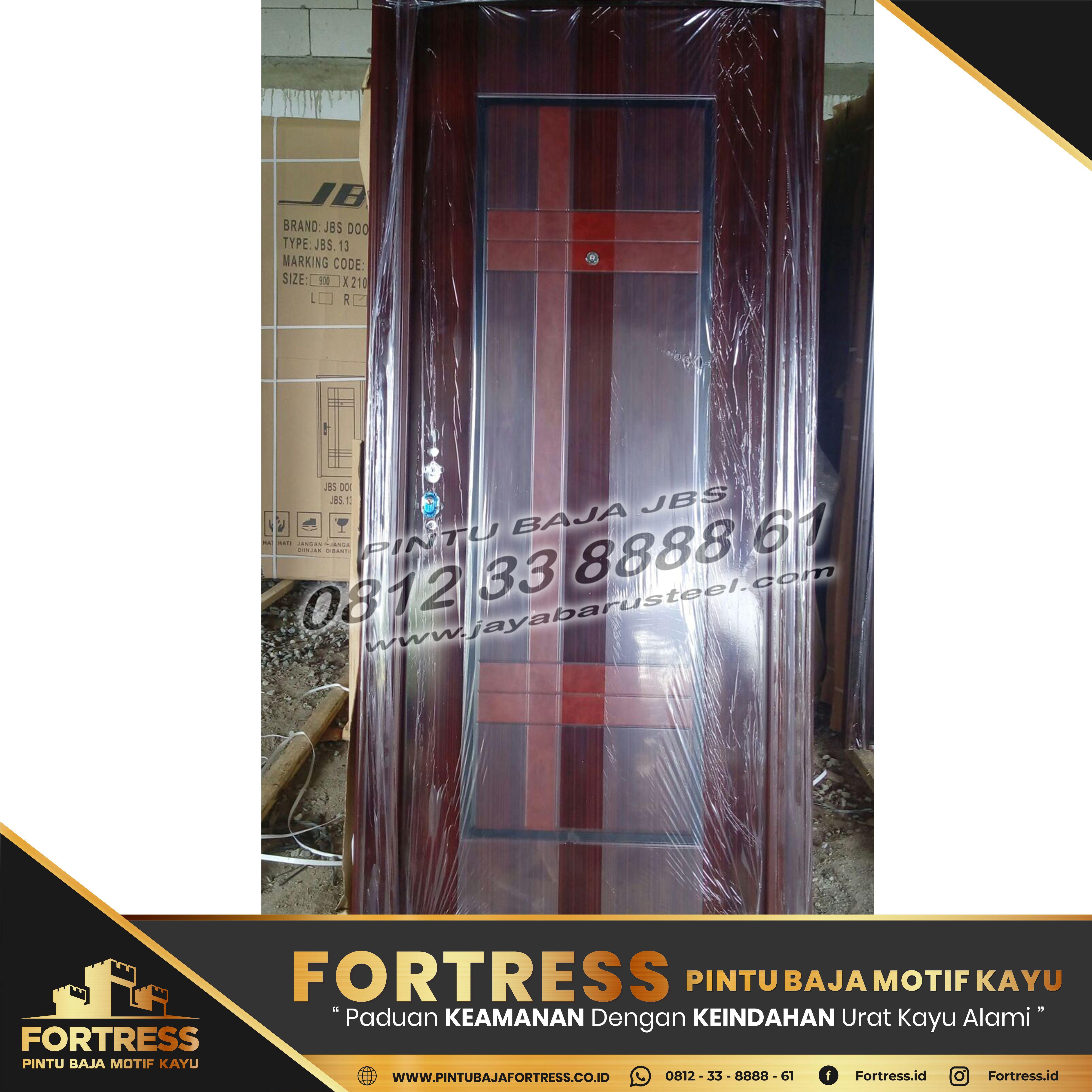 0812-91-6261-07 (FORTRESS) Pontianak Steel Door Frame, Solid …